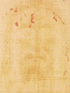 Lámina Positivo del Rostro de la Sábana Santa (DIN A3)