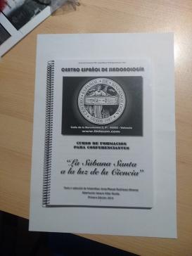 Cuaderno curso de formacion para socios sobre Sabana Santa