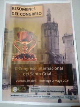 Folleto II Congreso internacional del Santo Grial