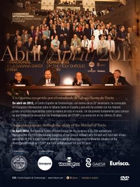 I Congreso Internacional Sobre Sábana Santa en España. 2012